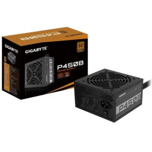 Gigabyte P450B SMPS 450 Watt 80 Plus Bronze Certification PSU