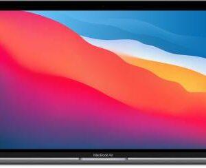 Apple MacBook Air MGN63HN/A (13.3-inch/33.78 cm, Apple M1 chip with 8‑core CPU and 7‑core GPU, 8GB RAM, 256GB SSD)