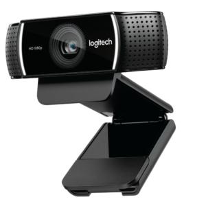 Logitech C922 Pro Stream Webcam (HD 1080p/30fps or HD 720p/60fps Hyperfast Streaming, Stereo Audio, HD Light Correction, Autofocus)