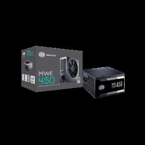 Cooler Master MWE 450W 80 Plus Non-Modular White Series SMPS Power Supply