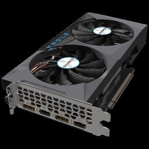 Gigabyte NVIDIA GeForce RTX 3060 Eagle OC 12G 12GB GDDR6 192-Bit Dual Fan Graphics Card (GV-N3060EAGLE OC-12GD)