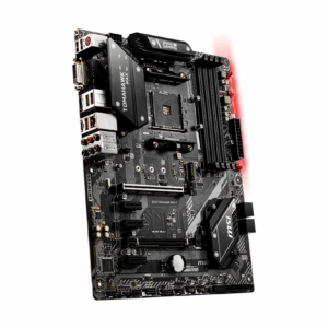 MSI B450 Tomahawk MAX II ATX Motherboard ( AMD AM4 Socket, Supports AMD Ryzen Series CPU, 4 RAM Slots, Max 128 GB Memory )