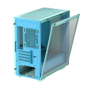 DEEPCOOL MACUBE 110 ATX MID TOWER TEMPERED GLASS GREEN CABINET (R-MACUBE110-GBNGM1N-A-1)