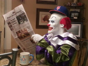 Staten Island Clown Lets Go Mets