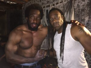 Booker T & Travis Love