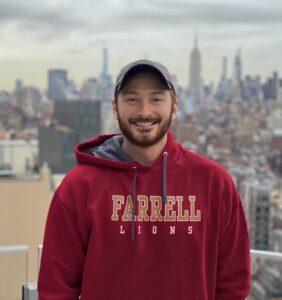 Michael Leavy rooftop Vir Fidelis