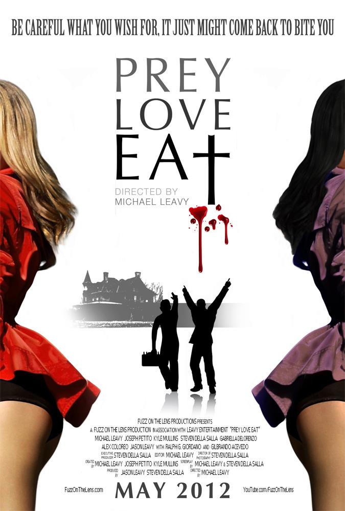 Prey Love Eat Poster