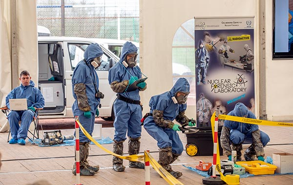 CBRNE in full gear