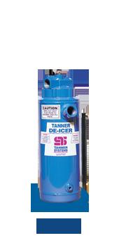 T-85 Tanner de-icer compact tank dispenser