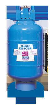 T-89 Tanner de-icer compact tank dispenser