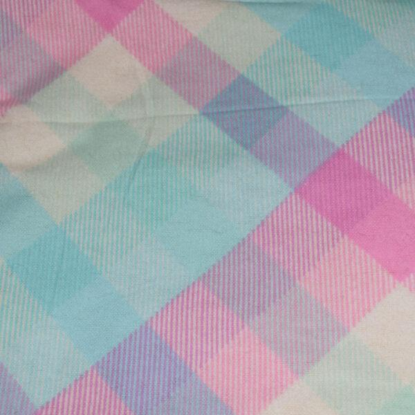 Pet Hammocks Plaid Pink Blue