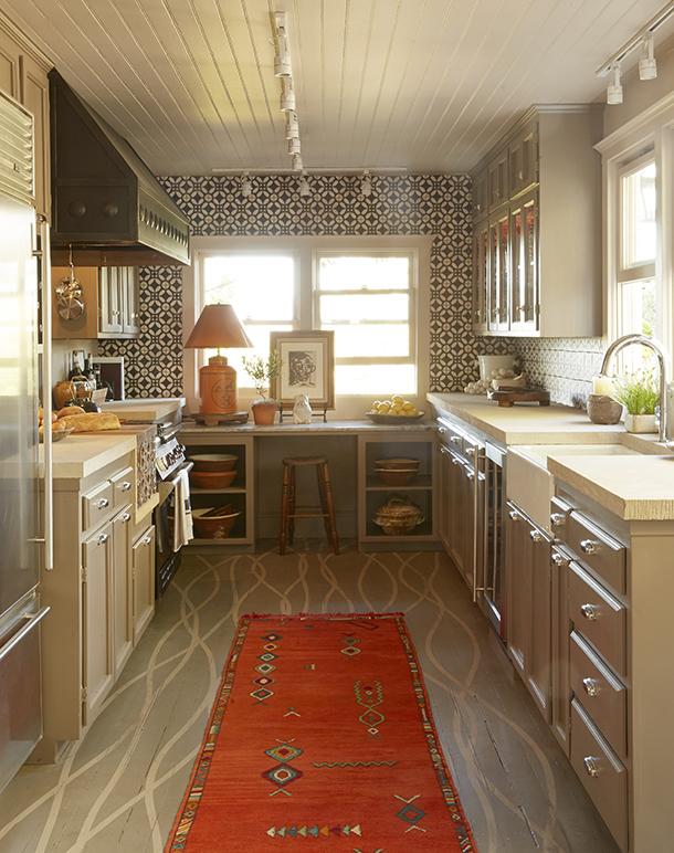 Napa Valley 2014 Showhouse custom flooring