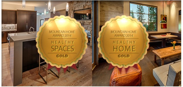 Winner of Two 2014 Mountain Home Awards