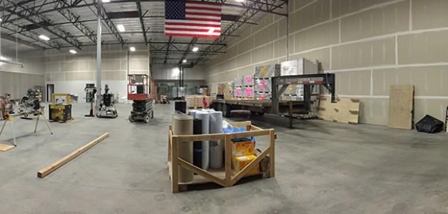 New Warehouse Update