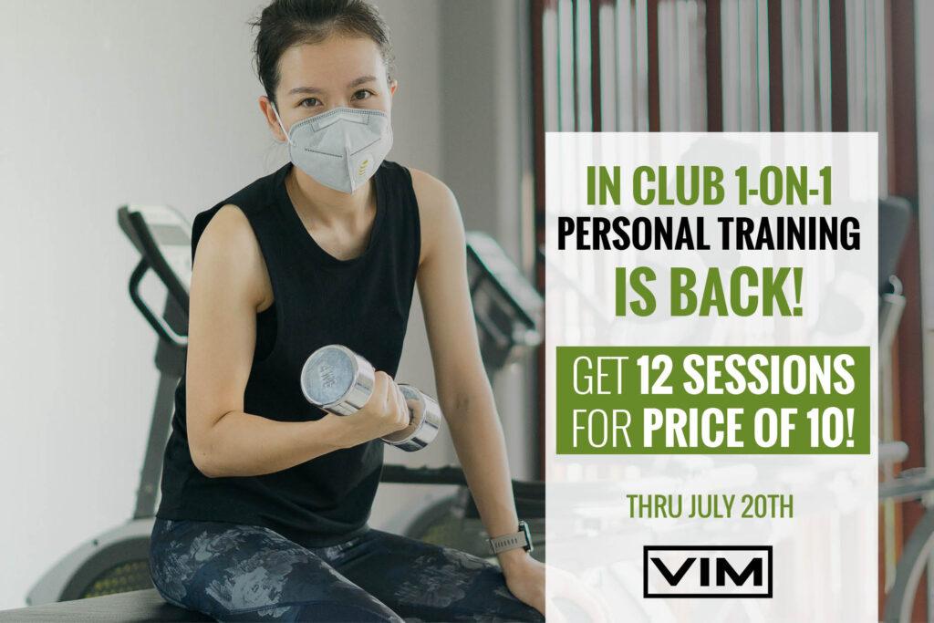 in-club personal training