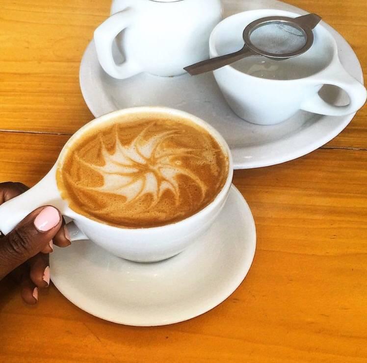 shift dress coffee talk ruthie temple coffee roasters