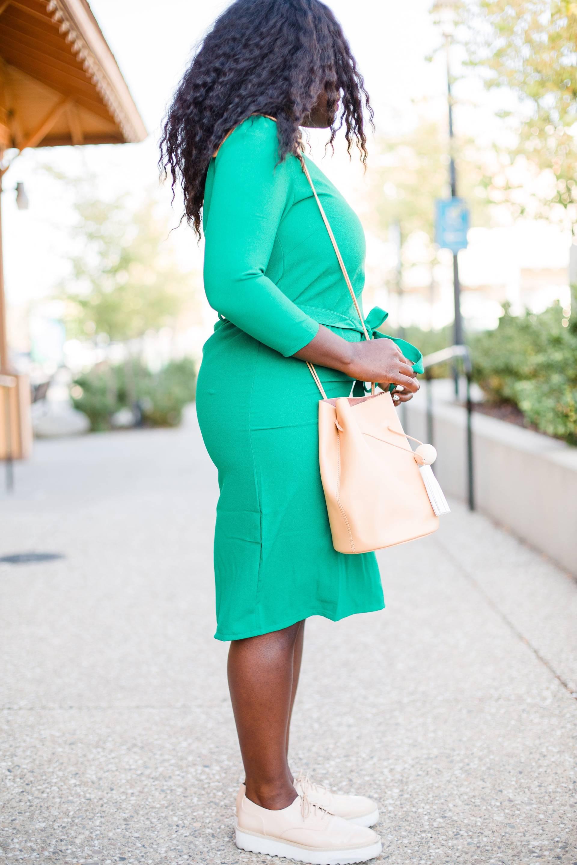 bullet-proof-coffee- green dress