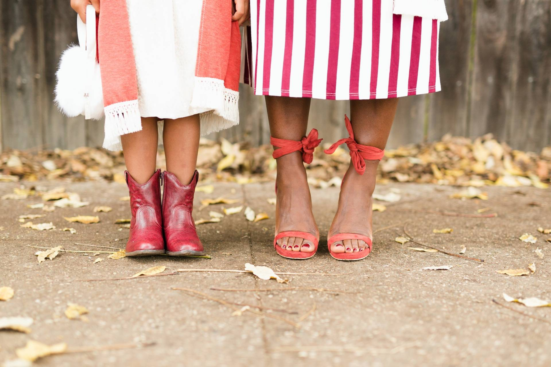 Mommy and me shoes
