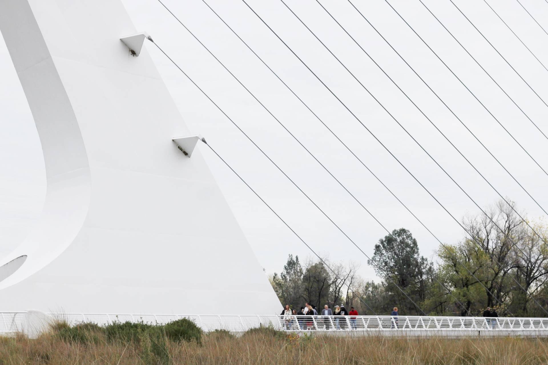 Sundial bridge redding