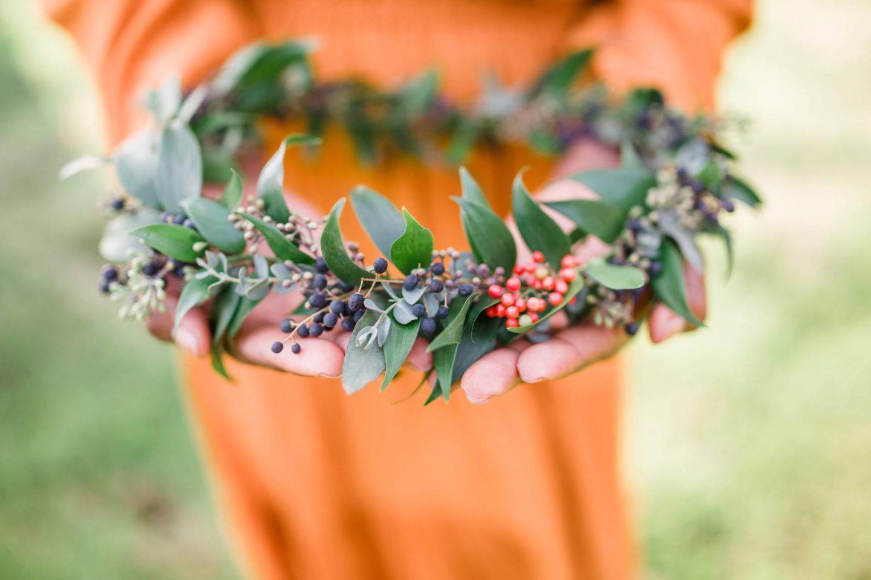 2-year-blogiversary- handmade wreath