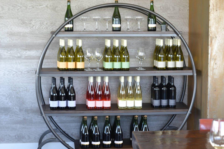 liana-estates-napa-valley- wine room