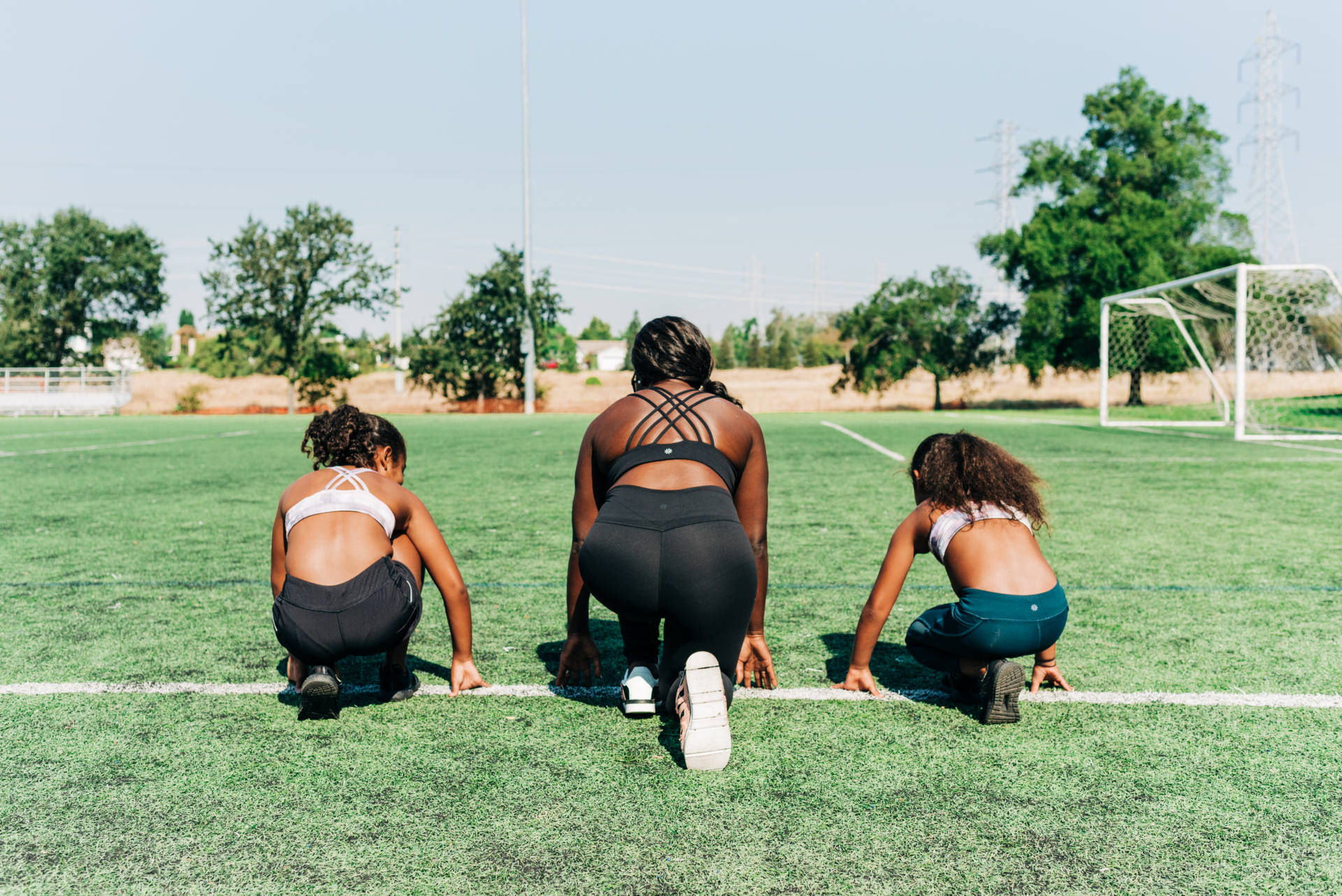 My advice to my two Athleta girls is if you're passionate about a sport and don't feel that you're good enough, stick with it.