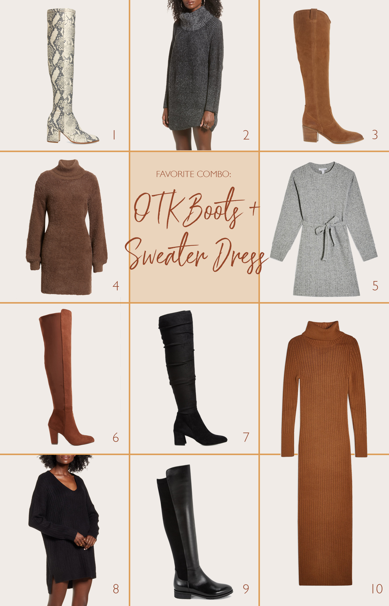 Ruthie Ridley Blog-Sweaters And Over The Knee Boots For Fall
