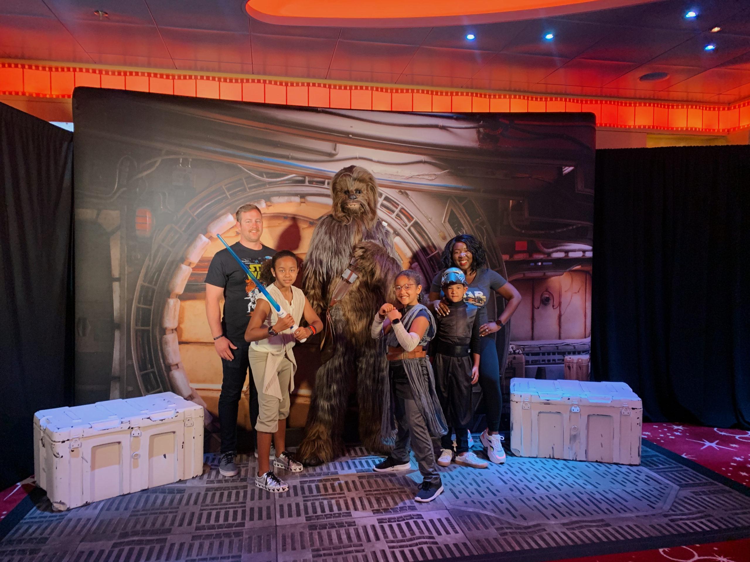 Ruthie Ridley Blog: Disney Cruise Line: Fantasy Ship- Star Wars Day At The Sea