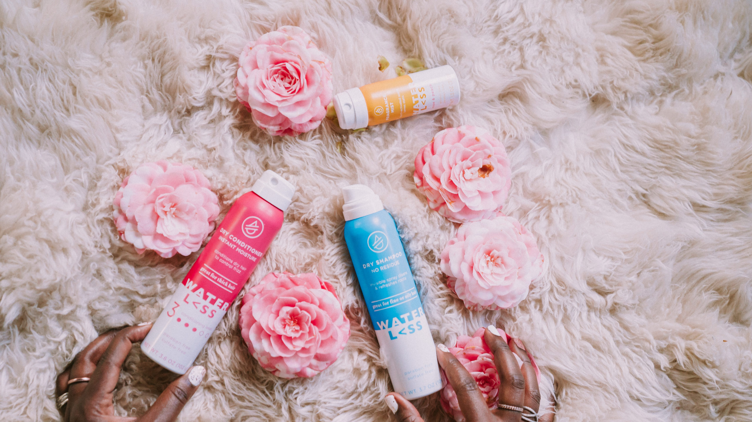 Ruthie Ridley Blog How to refresh your hair with Waterl<ss