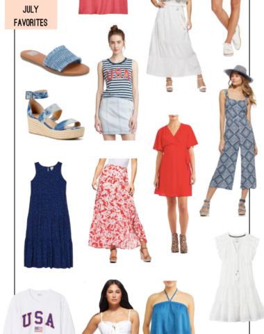 Ruthie Ridley Blog Last Minute Outfit Ideas For The Fourth Of July
