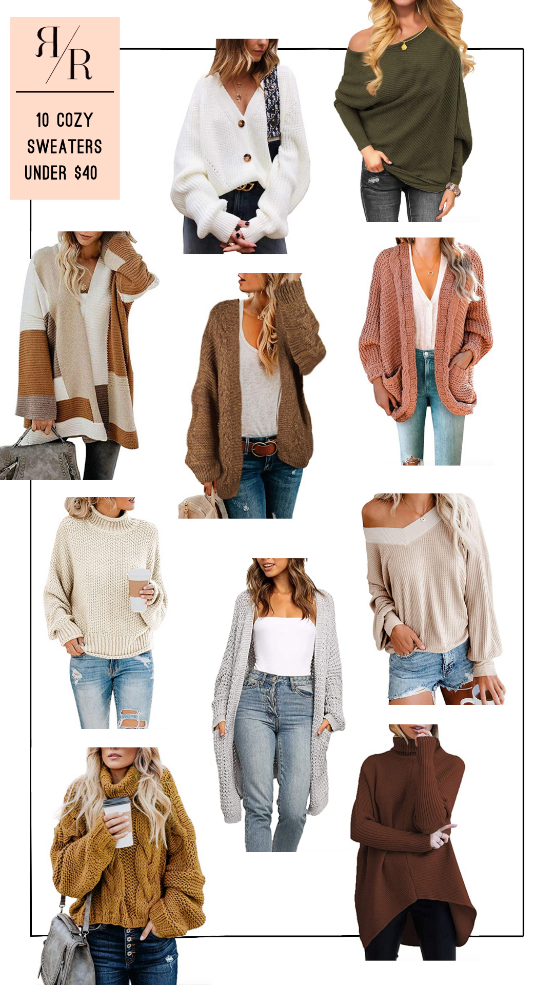 Ruthie Ridley Blog 10 Cozy Sweaters Under $40