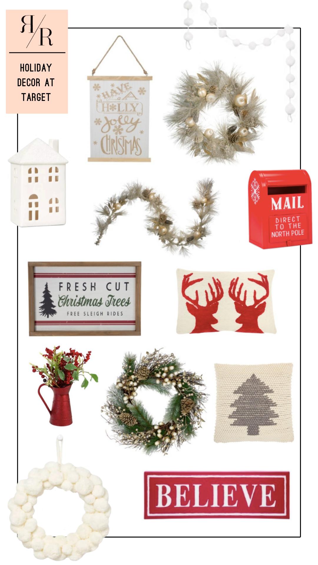Ruthie Ridley Blog Holiday Decor At Target
