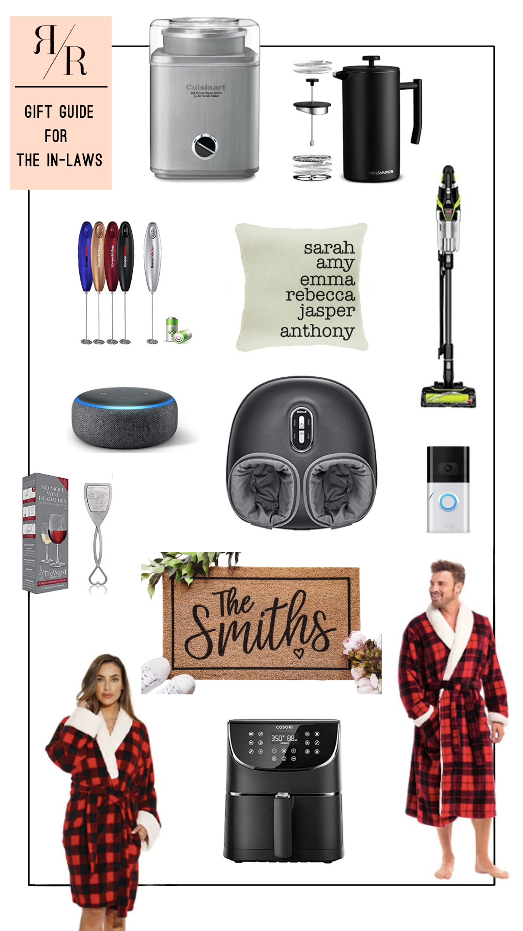 Ruthie Ridley Blog Gift Guide For The In-Laws