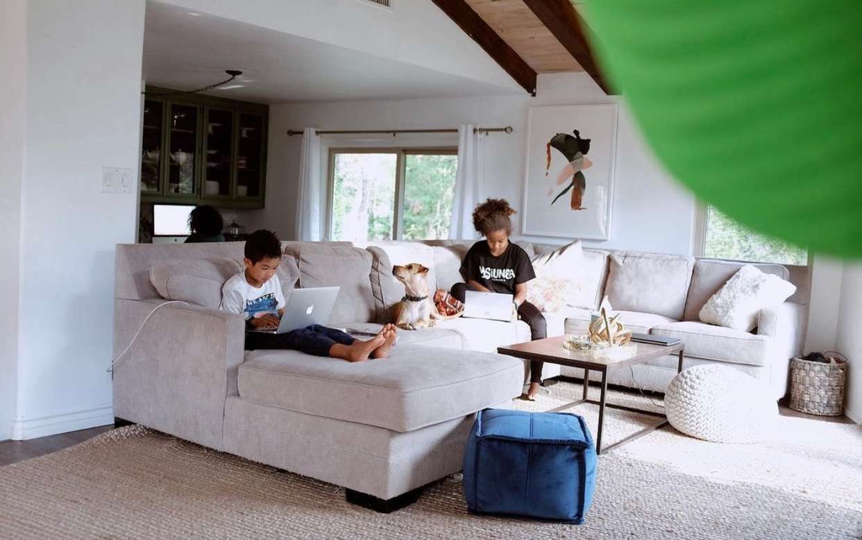 Ruthie Ridley Blog Living Room Makeover With Article
