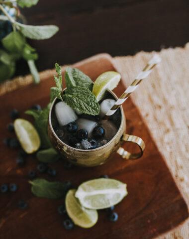 Ruthie Ridley Blog Keto-Friendly Blueberry Mojito
