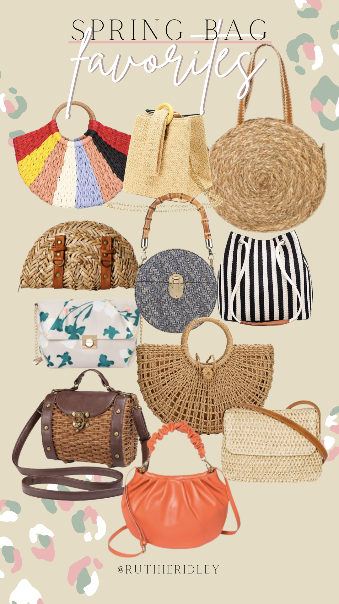 Ruthie Ridley Blog Spring Bags