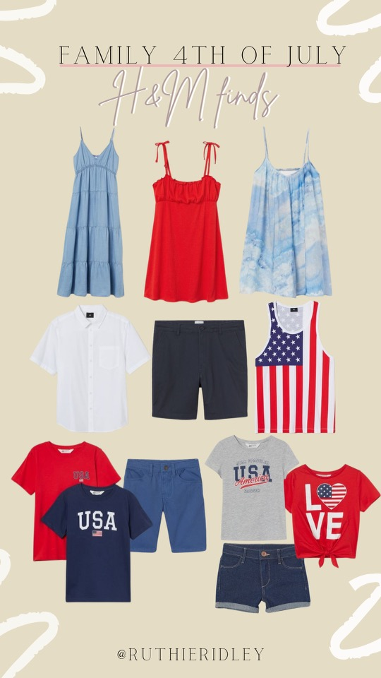 Ruthie Ridley Blog Looks For The Fourth Of July