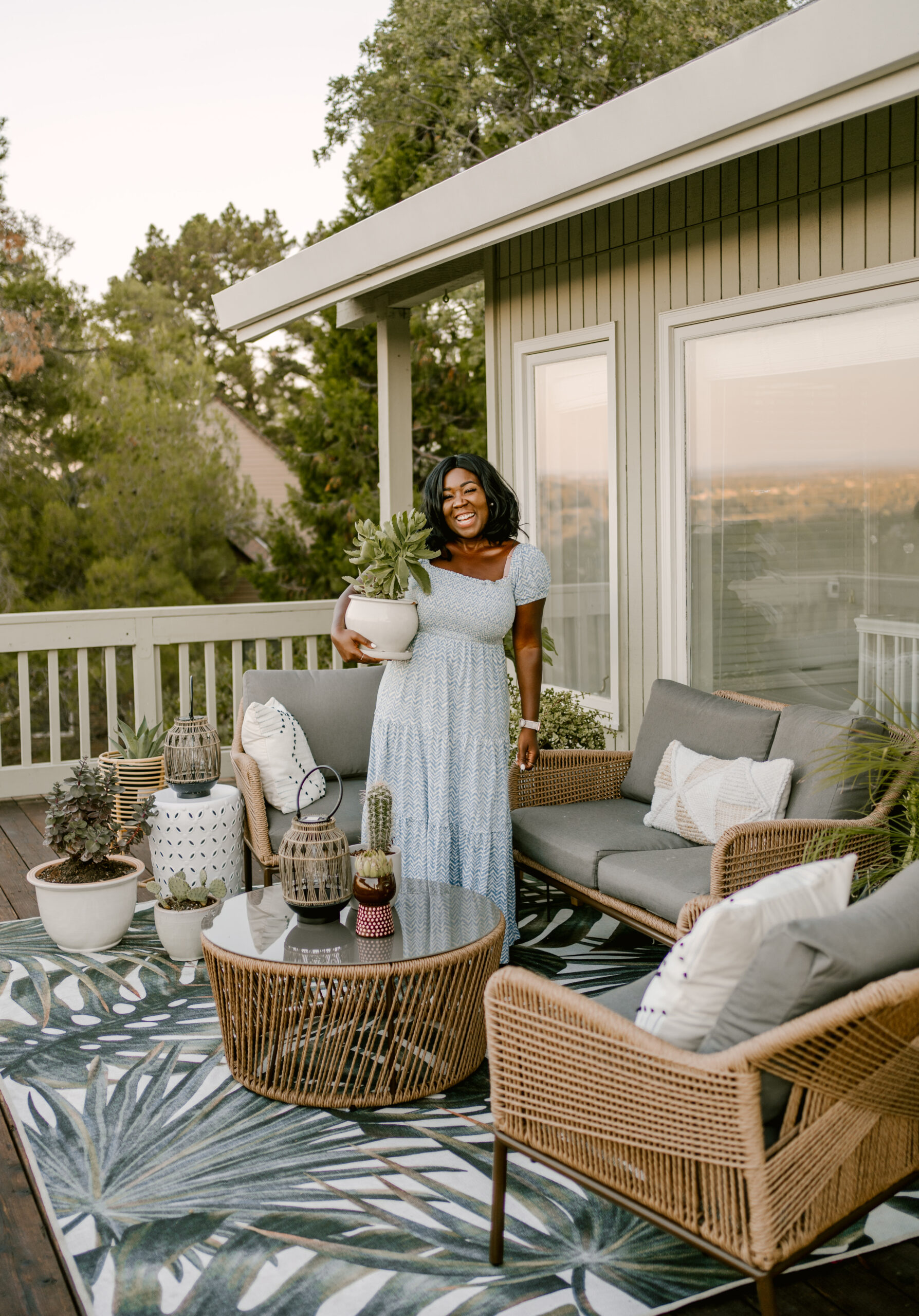 Ruthie Ridley Blog Styling My New Patio With Home Depot