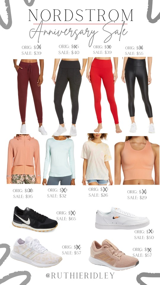Ruthie Ridley Blog Athleisure Favorites From The Nordstrom Anniversary Sale