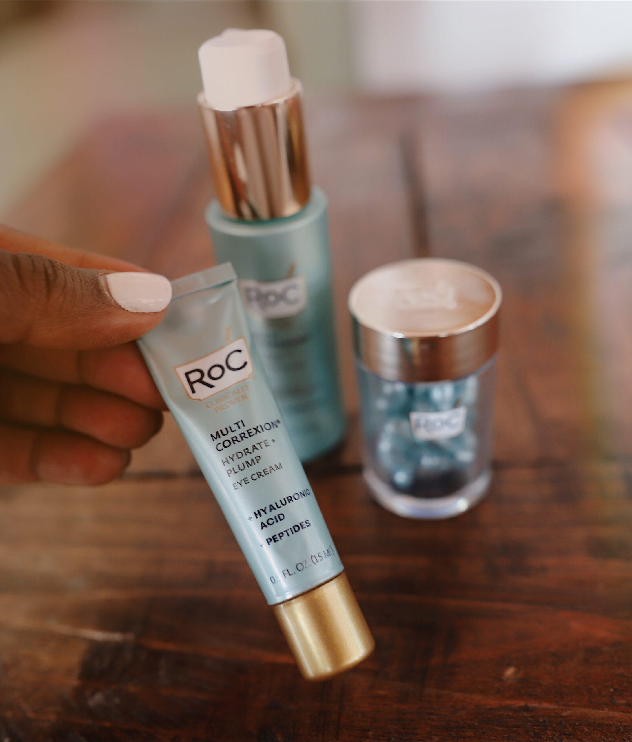 Ruthie Ridley Blog RoC Skincare Routine