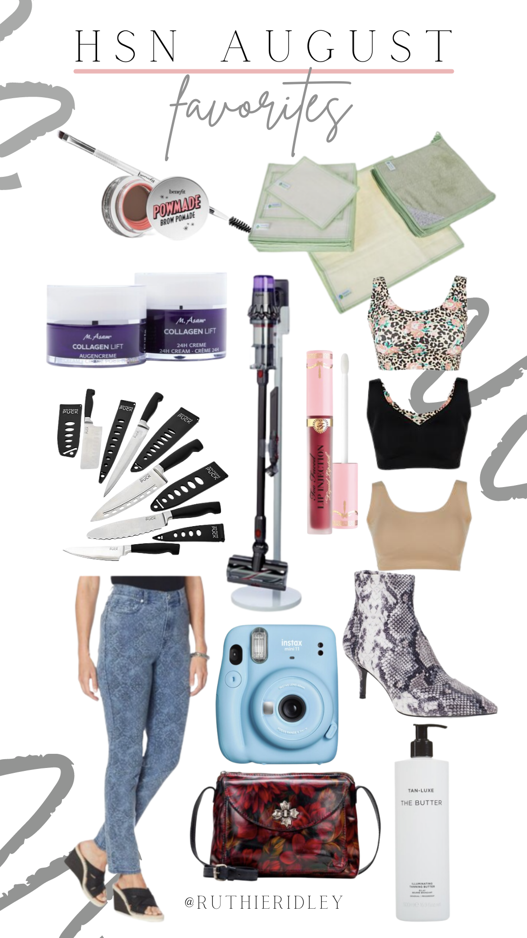 Ruthie Ridley Blog August Favorites From HSN