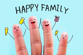 This image has an empty alt attribute; its file name is happyfamily.png