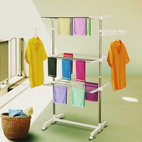 DIY To Increase Humidity Naturally by drying rack