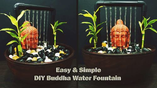 PVC Buddha Fountain