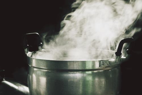 DIY To Increase Humidity Naturally by boiling water