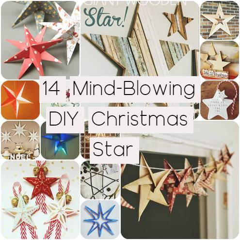 14 Mind-Blowing DIY Christmas Star