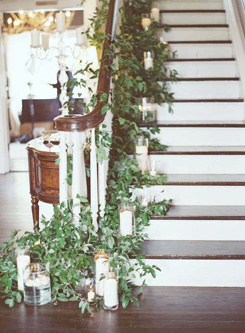 Staircase plant ideas