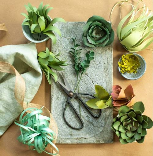 10 Pretty DIY Fake Succulents To Beautify Your Home