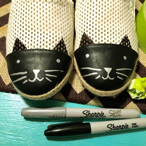 Cat Shoes For Children's
