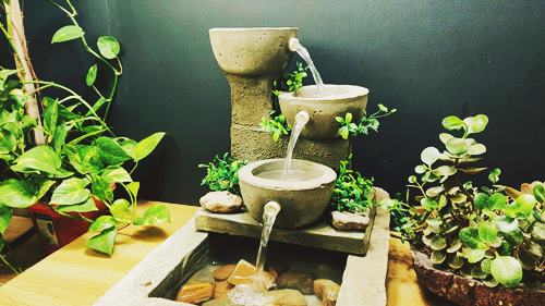 DIY Zen Small Waterfall